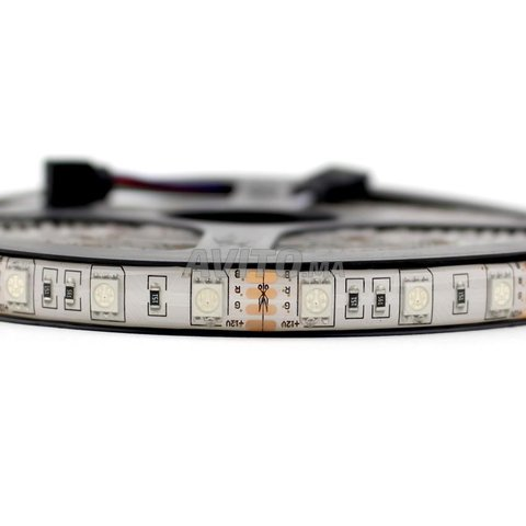 BOBINE LED   5050 60 led 14.4 W par m RGB  IP65 - 3