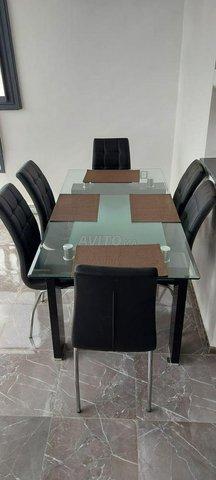 Vente table à manger moderne neuve pour 6 pers. - 2