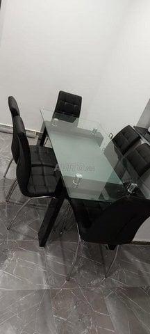 Vente table à manger moderne neuve pour 6 pers. - 4