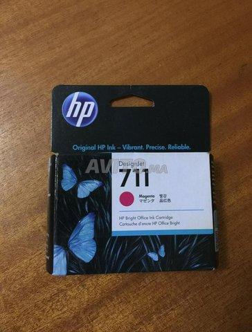 Cartouche en Couleur pour traceur HP  - 1