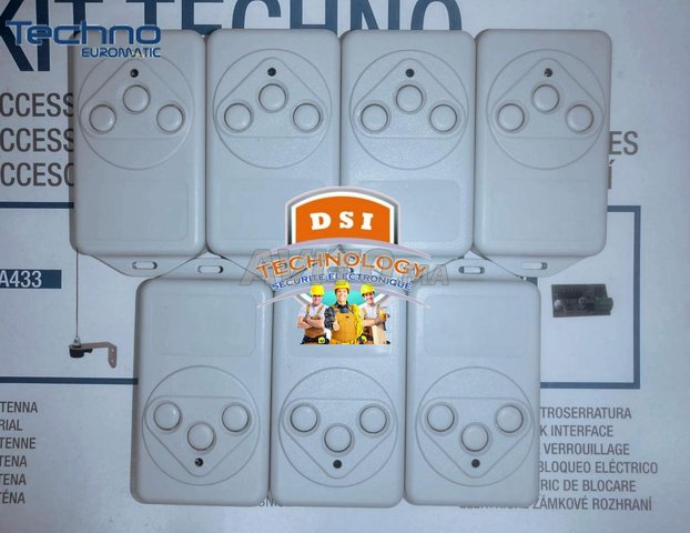 Télécommande TECHNO / PROTECO - 4
