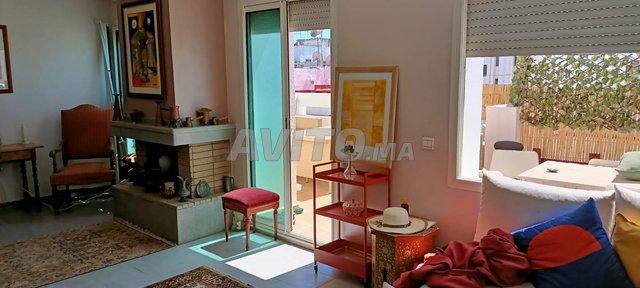 bel appartement  à louer 2 terrasse  agdal - 2