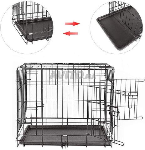 Cage Transportal pour chiens Chats Pliable  - 2