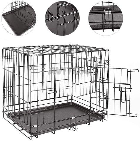 Cage Transportal pour chiens Chats Pliable  - 3