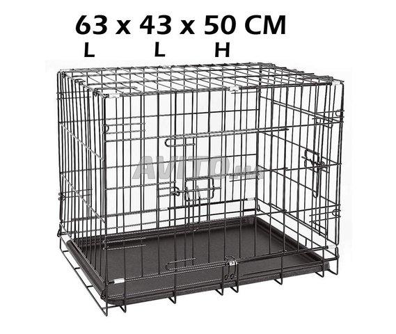 Cage Transportal pour chiens Chats Pliable  - 4