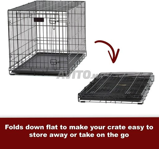 Cage Transportal pour chiens Chats Pliable  - 5