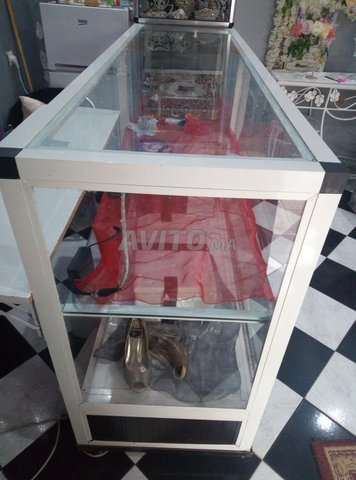 vitrine comptoir  - 4