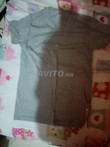 t shirt Gris Taille M - 1