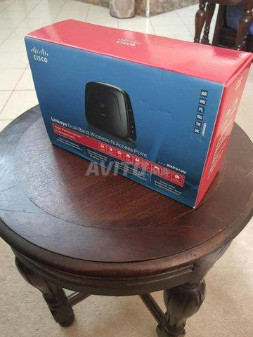 Point d'accès Cisco Linksys WAP610N Dual-Band Wifi - 1