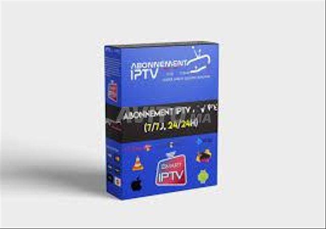 IP TV Chaines & VOD en FHD & 4K  1ans - 1