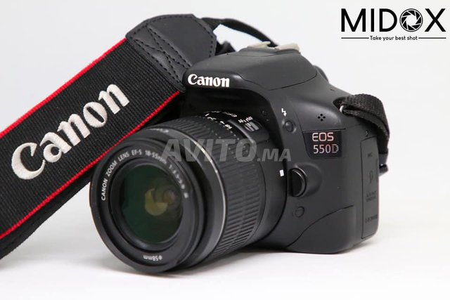 Canon 550D 18-55mm Promotion MAGASIN Midox SHOP - 1