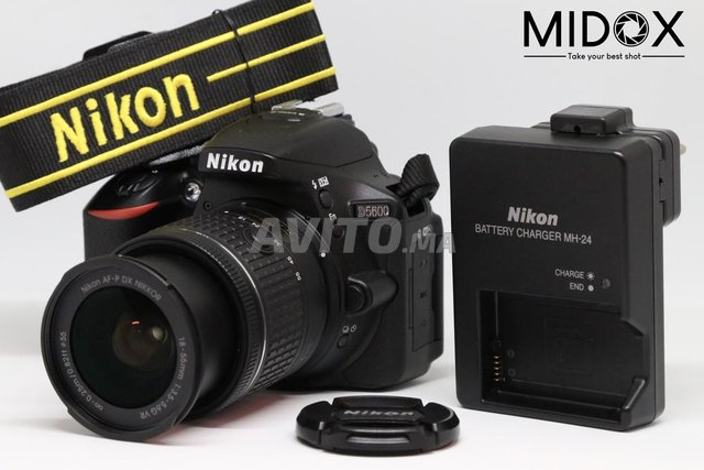 Nikon D5600 18-55mm Magasin Midox SHOP - 2