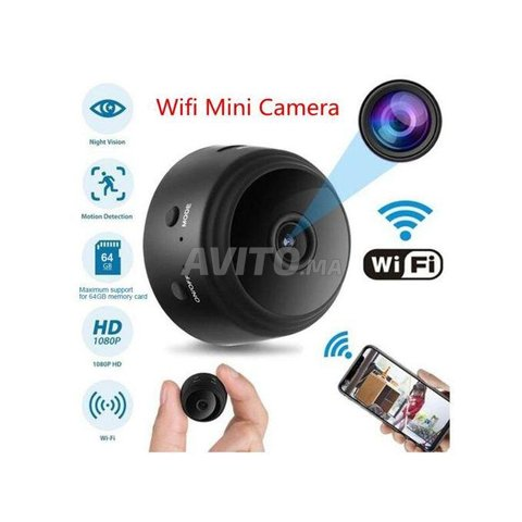 Caméra wifi mini - HD - A9 livraison casa - 3