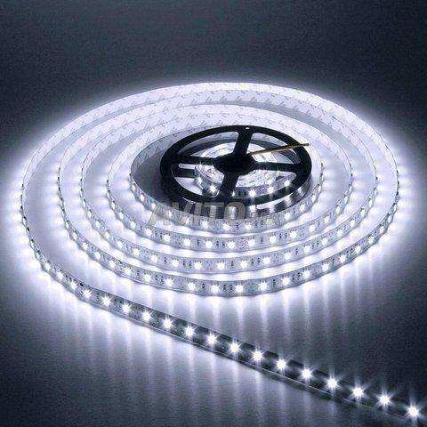 LED 5050 60 led 14.4W par mètre BLANC IP20 - 1