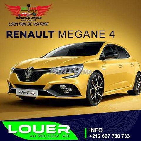 Location de voiture Megane 4 2021 - 1