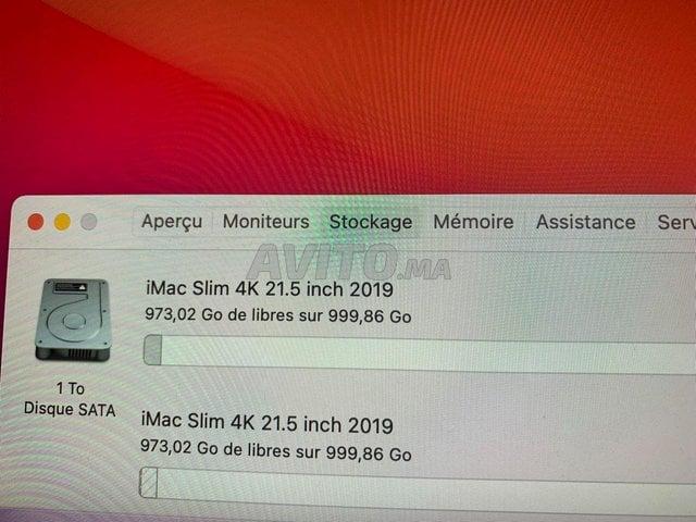 iMac Retina 4K 21.5inch  i3 8Go 3.6Ghz 1TB 2019 - 3
