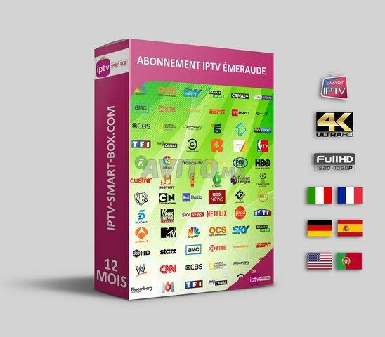 Abonnement IPTV premium top - 1