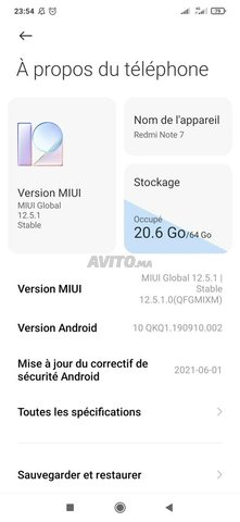 Xiaomi note 7 4/64 comme neuf - 7