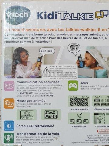 kidi talkie walkie vtech - 2