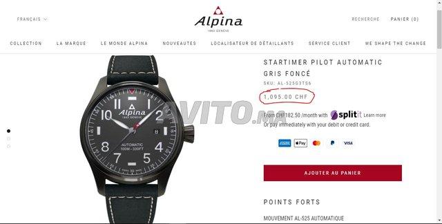 ALPINA STARTIMER PILOT AUTOMATIC - 6