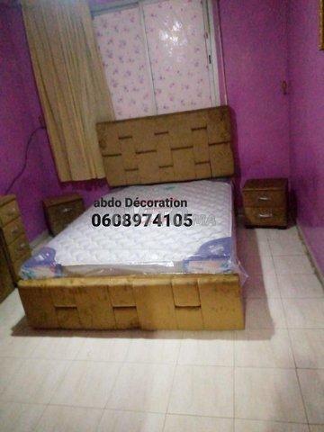 Chambre a coucher en simili disponible - 2