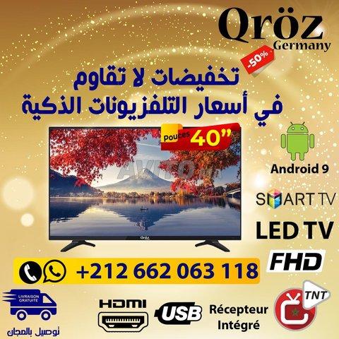 TV 40 Smart Android officiel 9 ET RECEPTEUR  - 1