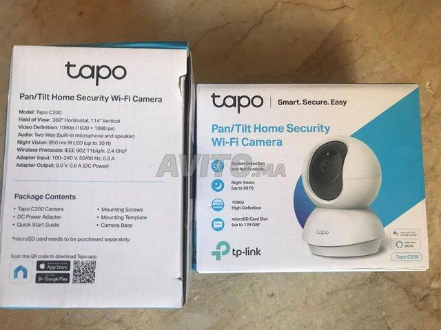 TP-Link Tapo Caméra WiFi  C200  1080P - 4