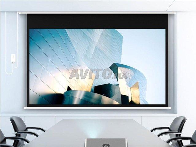 OWLENZ HD 100 Pouce Électrique Écran De Projection - 6