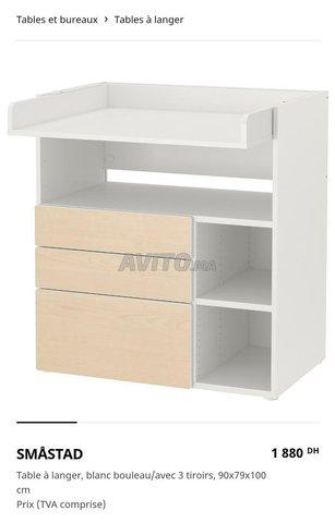 Table à langer Ikea & accessoires - 2