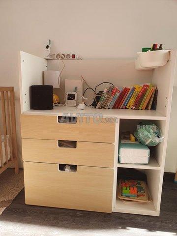 Table à langer Ikea & accessoires - 1