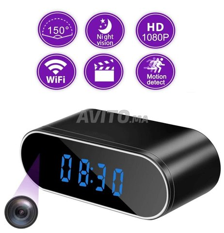 reveil camera wifi 4k h90 - 1