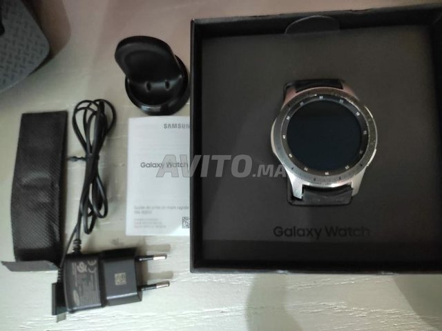 Samsung Galaxy Watch 46mm (silver) première main - 3