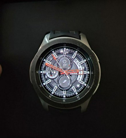 Samsung Galaxy Watch 46mm (silver) première main - 5