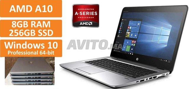 PCs HP 745 G4 AMD PRO A10-8730B R5/ 8Go /256 SSD - 1