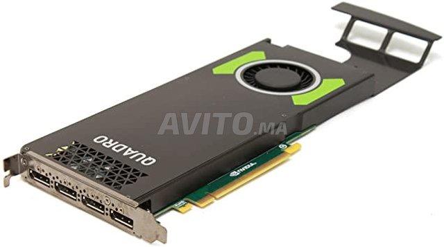 Carte graphique NVIDIA QUADRO M4000. 8Go DDR5 - 1