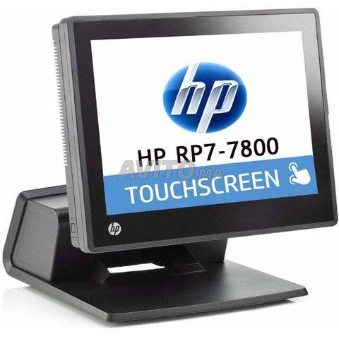 LOT DES Caisse Tactile HP RP7800 Core i5  - 1