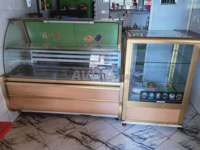 Comptoir  Réfrigérateur Et vitrine - 3