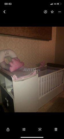 Lit bebe et commode - 2