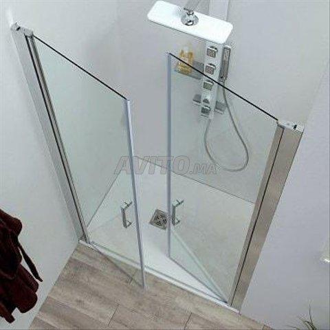 douche en verre trempé - 2