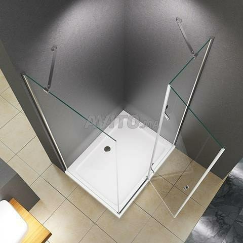 douche en verre trempé - 4