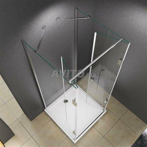 douche en verre trempé - 5