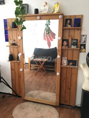 Jolie Miroir en bois pour votre décor - 4