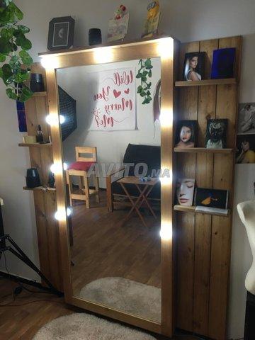 Jolie Miroir en bois pour votre décor - 2