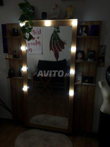 Jolie Miroir en bois pour votre décor - 3