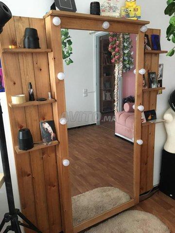 Jolie Miroir en bois pour votre décor - 5