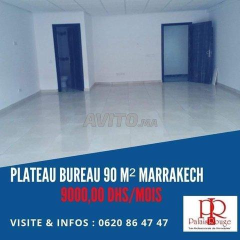 Plateau bureau 90 M2 à louer Guéliz Marrakech - 1