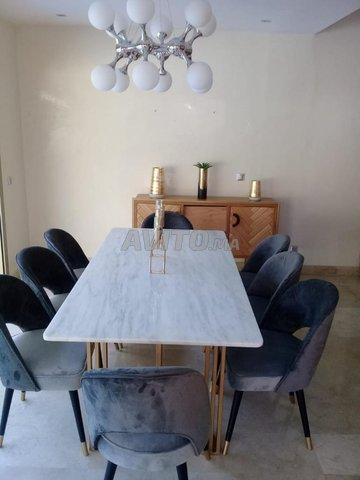 Table à manger marbre - 6
