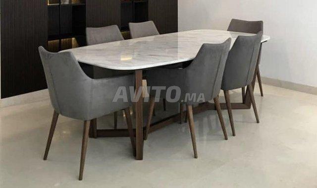 Table à manger marbre - 2