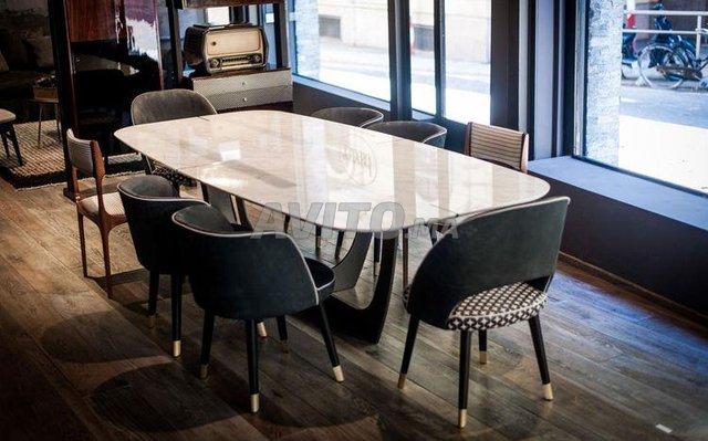 Table à manger marbre - 3
