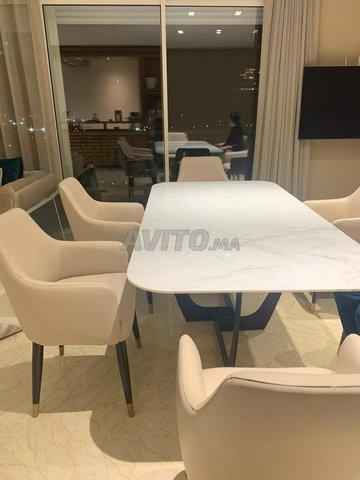 Table à manger marbre - 4